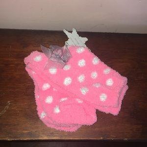 Pink Fuzzy socks !!!